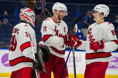 They said it: Rod Brind'Amour, Jordan Staal on tonight's game in Florida