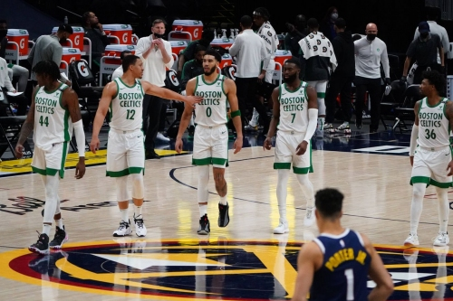 The Celtics have found themselves