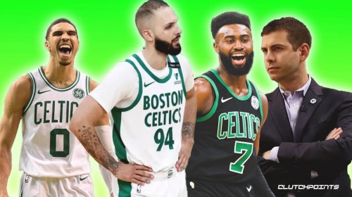 Celtics give update on Evan Fournier with playoffs looming