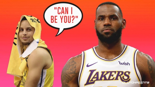 Warriors star Stephen Curry admits he used to be jealous of LeBron James
