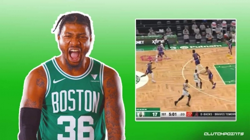 VIDEO: Celtics' Marcus Smart showing off full arsenal in first half vs Suns