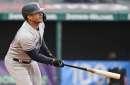 Yankees offense finally breaks through in Cleveland
