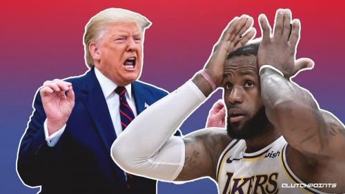 Donald Trump breaks silence, rips LeBron James