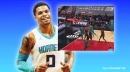 Hornets' Miles Bridges gets announcers pumped with massive dunk vs Bulls