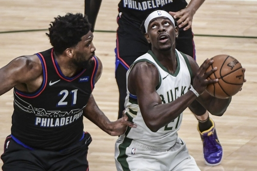 Sixers fall to Bucks 124-117, now tied for 1st place with Nets
