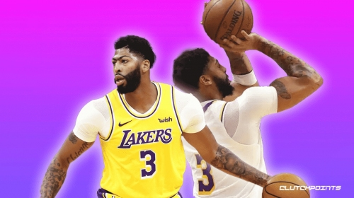 VIDEO: Lakers' Anthony Davis drains his first bucket in 30 games