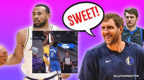 VIDEO: Talen Horton-Tucker nails epic Dirk Nowitzki fade vs. Mavs