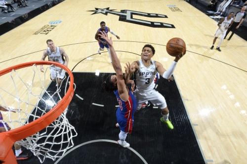 San Antonio vs. Detroit, Final Score: Spurs put away the Pistons, 106-91