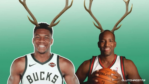 Giannis Antetokounmpo fires friendly warning at former Milwaukee star Michael Redd