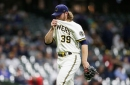 Corbin Burnes looks human, Brewers get blown out by Marlins 8-0