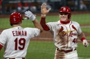 Bader's back: Cardinals' Gold Glove finalist returns to center field, shifts look of outfield