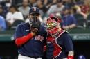 Red Sox 6, Rangers 8: Rodriguez fumbles, Andriese explodes, Sawamura fizzles