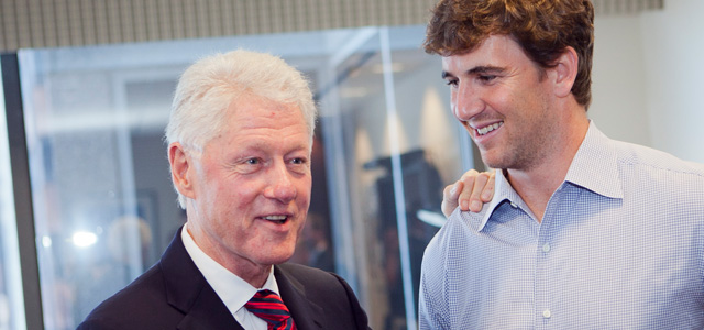 eli-manning-ny-giants-bill-clinton