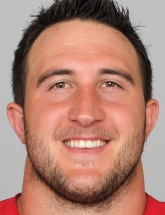 Joe Staley 74 photo